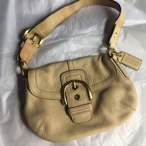 Coach leather small purse
